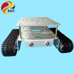 Double Decker Tank DT200 Robot Car Chassis Control ESPduino Kit Совместимость с Arduino WiFi UNO R3 DIY RC игрушки