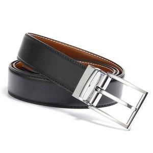 Designer Belt Genuine Leather Reversible Belt Fashion High Quality Buckle Belts for Men Luxury Reversible Belt for Men Free Shipping