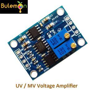 Envío gratuito 5 unids / lote Alta Precisión UV / MV Amplificador de Tensión Amplificador de Instrumentación de Señal AD620 Transmisor