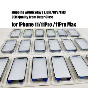 50pcs Front Outer Touch Screen LCD Glass Lens Replacement for iPhone 11 Pro Max free DHL