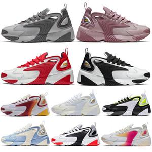 nike m2k Tasarımcı M2k Tekno Zoom 2 K Ayakkabı Mens Kadınlar için Üçlü Siyah Beyaz terra kiger Yakınlaştırma Pegasus Yarış Kırmızı Kraliyet Mavi Spor Sneakers Eğitmenler