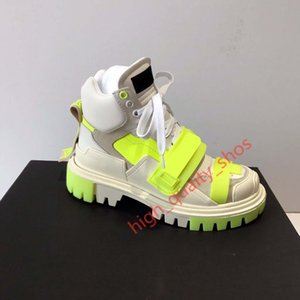 Xshfbcl 2020 New Winter And Cowhide High Version Thick Wide Increased Casual Sports Couple Boots old Shoes size 35-40