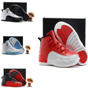 2019 bon marché en gros 12 XII Femmes Chaussures de basket Prem HC GG GS Héritière os d'or PLUM BROUILLARD 12s Baskets Enfant Jeunesse Chaussures de Course