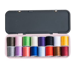 Sewing Kit Scissors Thimble Thread Sewing Needles Tape Measure Carry Box Set Other Hand Tools