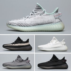 Yeezy 350 V2 Designer-Schuhe Kinder 2019 Static Sesame Butter Kanye West v2 Trainer Zebra Laufschuhe True Form Beluga Moonrock Oxfod Tan Pirate TRFRM