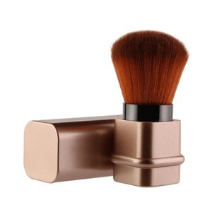 Upscale Multi Use Retractable Travel Cosmetic Tools Makeup Brush Professional Concealer Powder Blush Women Portable Home Single