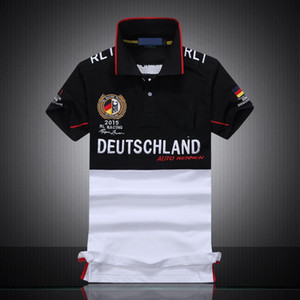 RL RACING Frauen-Polo-Stickerei Baumwolle Shirts Custom Fit USA Short Sleeve-Team Hemden Größe S-5XL