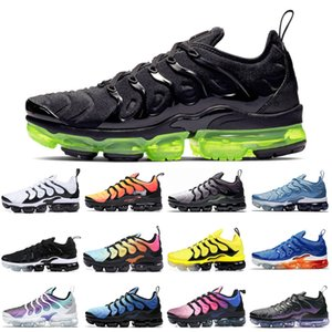 TN Plus Скидка женские кроссовки Классические женские кроссовки Megatron Sunset Черно-белый отбеленный аква-игра Royal Sports Trainer Woman Спортивная обувь