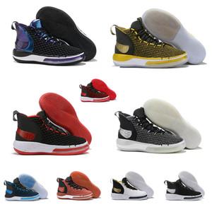 Scarpe da basket uomo alphadunk nuove a buon mercato in vendita Viola Blu Bred Team Rosso Nero TB lebron james 16 hyperdunks sneakers tennis con scatola