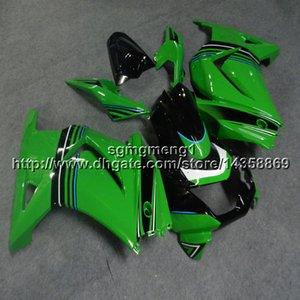 23colors + Gifts Grüner Motorradrumpf der Spritzgussform für Kawasaki ZX250R 2008-2012 EX250 2009 2010 2011 ABS-Bewegungsmotorrad-Verkleidung