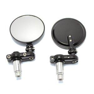 Moto Modified specchio retrovisore Retro universale Specchio manubrio reflectible Modificato retrovisore