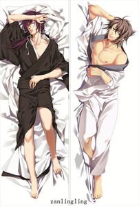 Hakuoki ~Shinsengumi Kitan pillow cover Anime Hakuouki Man Hakuoki cool Chizuru Yukimura & Toshizo Hijikata body pillowcase Dakimakura