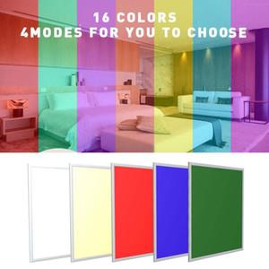 لوحة RGB LED ضوء لوحة 2X2 2X4 الصمام أضواء 600x600mm 36W 48 54W 72W شقة قاد لوحة السقف ضوء دافئ طبيعة AC85-2 الأبيض
