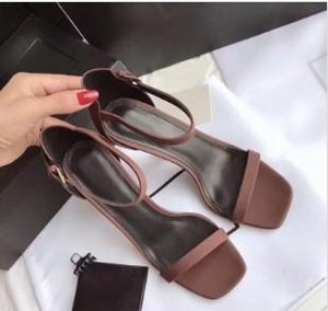 Designer Women Colorful Heels Sandals Top Quality T-strap High-heeled Pumps 9 Colors Ladies Patent Leather Dress Single Shoes m189607