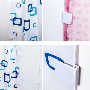 Muhafız Banyo Yüksek Kalite Sıcak Satış Leaking Ev Garden 2adet Duş Perde Klipler Karşıtı Splash Dökülme Durdur Su