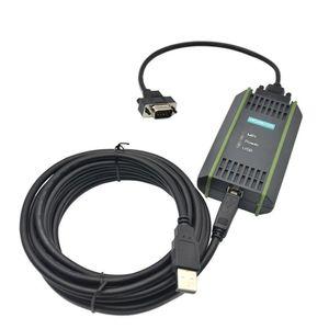 New USB-MPI USB-PPI Para Siemens 6ES7972-0CB20-0XA0 S7- 200 300 400 PLC Cabo