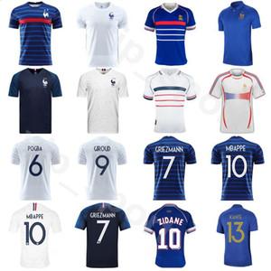 2020 2021 프랑스 뉴저지 1998 2006 레트로 축구 13 KANTE 18 FEKIR 2 PAVARD 11 COMAN 17 개 시소코 BEN YEDDER 축구 셔츠 키트