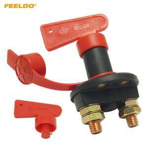 Feeldo DC12V-24V crogiolo di camion dell'automobile potenza della batteria del veicolo Kill Switch Cut Off Disconnect isolatore con chiave estraibile # 5702