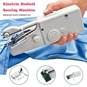 DHL شحن هاندي غرزة محمول الكهربائية ماكينة الخياطة البسيطة المحمولة الرئيسية الخياطة خيارات الجدول باليد واحدة الإبرة اليدوية DIY أداة
