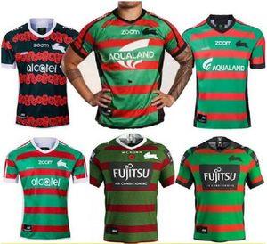 2020 뉴 사우스 시드니 Rabbitohs 홈 ANZAC 럭비 저지 2020 NRL 럭비 리그 유니폼 호주 타이츠 드 럭비 Sise : S-5XL