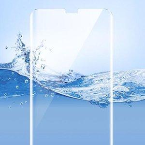 2019 neue klar gebogene uv flüssigkeit vollkleber gehärtetes glas für samsung galaxy s8 s9 s10 lite s10 plus s7 edge note 8 9 displayschutzfolie