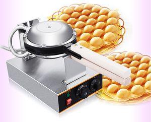 Ücretsiz Kargo 220 V / 110 V Ticari elektrikli Çin Hong Kong eggettes puf yumurta waffle demir maker makinesi kabarcık yumurta kek fırın LLFA