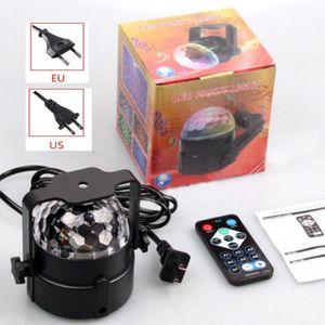 Hot Led Magic Ball Licht Neueste LED RGB Kristall Magic Disco Ball Licht Sound Aktiviert Mit Remote Party DJ Liefert Werkzeuge