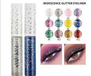 Make-up Großhandel Fantasie Eyeliner Flüssigkeit Lidschatten Traum Glitzer Eyelinerbleistift Gelee Glitter Eyeliner Lidschatten Glitter