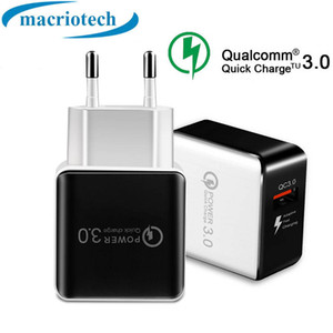QC 3.0 Fast Wall Charger USB Quick Charge 5V 3A 9V 2A Travel Power Adapter Fast Charging US EU Plug for iPh 11 7 8 X Samsung Huawei Phone