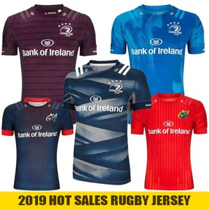 2019 2020 Munster Leinster Rugby Jersey casa Fuori Formazione 19 20 Munster Super League Irlanda Jersey Rugby-Trikots maillot de rugby, S-3XL