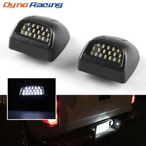 Dynoracing 1 Pair 18 LED License Plate Light Lamp Bulbs for 00-06 Chevy Tahoe Suburban For GMC Yukon XL