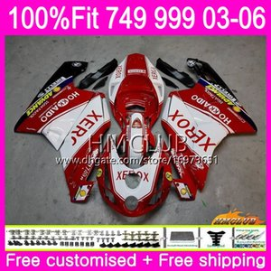 Injection kit For DUCATI 749-999 749S 999S 749 999 03 04 05 06 Body 33HM.0 749 999 S R 749R 999R 2003 2004 2005 2006 Fairing Factory red new