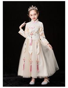 Linda2020 MOD 1 Bebek Çocuk Giyim DEĞİL gercek Vaftiz ikiye İçin DHLEMSAramex Kargo elbiseler