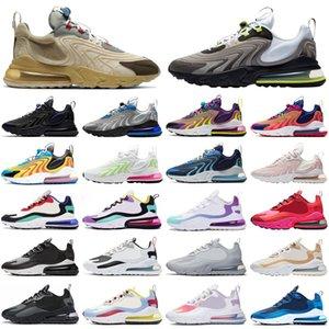nike air max 270 270s react ENG travis scott hommes femmes chaussures de course néon triple athlétique hommes formateurs sports sneakers runners