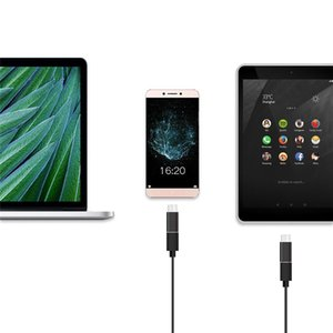 Micro USB мужчин к типу с Micro USB к типу C конвертер адаптер для Huawei Macbook OnePlus Xiaomi OTG данных зарядный кабель зарядного устройства