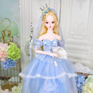 Dream Fairy игрушка 1/3 кукла BJD 62см совместное тело белая кожа с одеждой обувь AI YOSD MSD SD KIT игрушка детский подарок DC