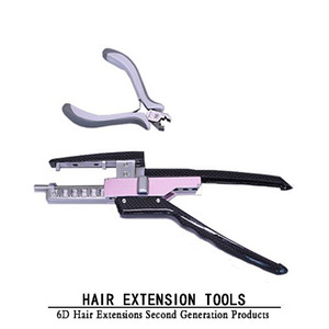 6d-2 Hair Extensions Tools Second Generation Hair Extension Tools Pliers Machine G2 Top Professional Hair Connector Salon Styling Tools