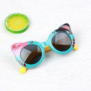 2020 new designer kids silica gel Sunglasses Boys Girls infant Sunglass TR90 silica gel Safety Glasses Baby Eyewear UV400 Oculos
