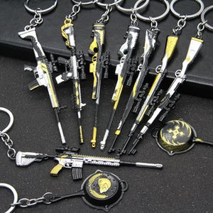 Keychain pendant game peripheral gun model 98K key chain