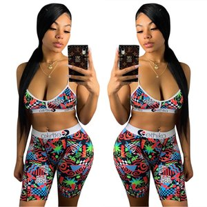 Donne Ethika Swimwear Designer Reggiseno + Shorts Trunks 2 pezzi Marca Tuta Quick Dry Beachwear Bikini