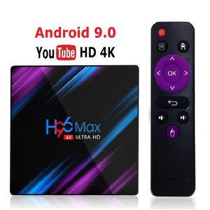 Neu H96 MAX RK3318 Smart TV Box Android 9.0 4GB 32GB 64GB Media-Player-4K Google Voice Assistant Netflix Youtube H96MAX 2GB16GB (Retail)