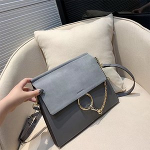 Spedizione gratuita Classic Designer Borse A Spalla Delle Donne di cuoio reale Catena Crossbody Bag Borse cerchio borsa femminile di alta qualità