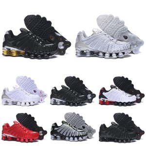 Top Quality TL Mens Running Shoes Breathable Sneakers Black White outdoor walking sports chaussures R4 Trainers