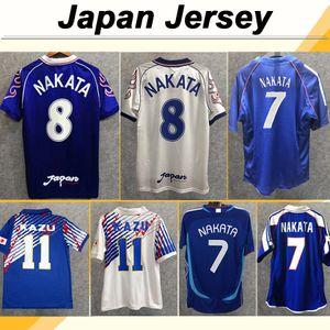 2006 Japon équipe nationale NAKATA Mens Soccer Jerseys 1998 SOMA AKITA OKANO KAWAGUCHI Retro Domicile Extérieur Maillot de football 95 Uniformes KAZU Hattori