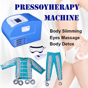 2019 Pressotherapy 림프 배수 기계 사우나 Pressotherapy 치료 ems 근육 자극 공기 파 압력 detox 버튼 ems 슬리밍