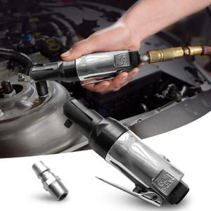 """90PSI Mini Air Ratchet Wrench 1/4"""" 3/8"""" Square Drive stelo dritto, pneumatici Ratchet impugnatura della chiave pneumatici Strumenti di riparazione"""