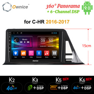 Ownice Auto-DVD für Toyota CHR C HR CHR 2016 2017 Auto-Android 9.0-Radio Audio GPS Spieler Navi Stereo 4G