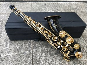 Japão Marca YTS-875EX saxofone tenor B Flat Black Latão Sax Tenor Latão Sax Tenor Sopro instrumento de música com caso