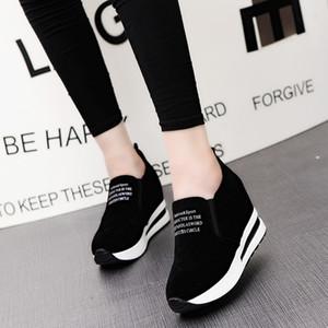 2020 Femmes hautes cestas plate-forme Femmes Bottines cesta Femme Chaussures Chaussures altivez augmenter Z11-84