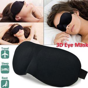Portable 3D Sleep Eye Mask Cozy Memory Foam Eyelashes Blindfold Blackout Cover 10Pcs